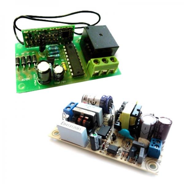 Приемник для пульта ДУ 433 МГц + источник питания