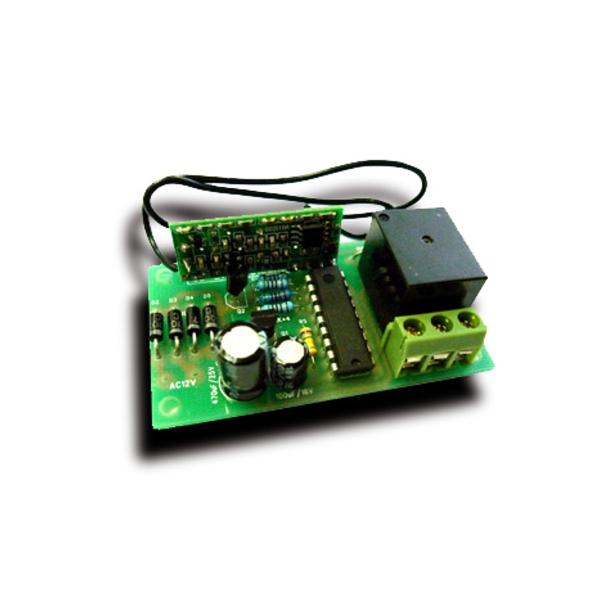 """Приемник для пульта ДУ 433 МГц MP910 (режим """"кнопка"""", одно реле до 2 кВт 10А)"""