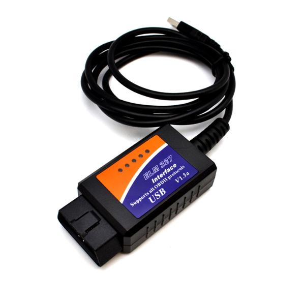 Автомобильный USB - OBDII сканер универсальный