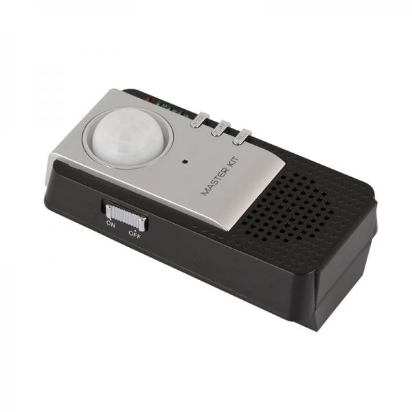 Звуковая сигнализация с датчиком движения и микрофоном