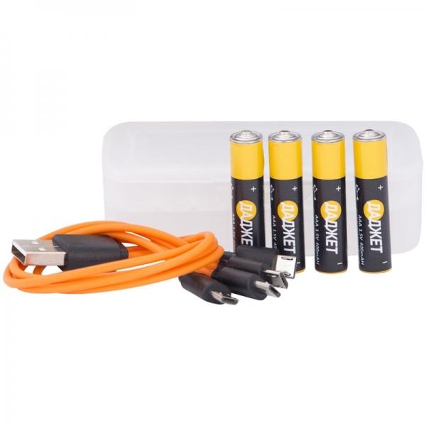 USB-батарейки (Аккумуляторы ААА 4шт.)