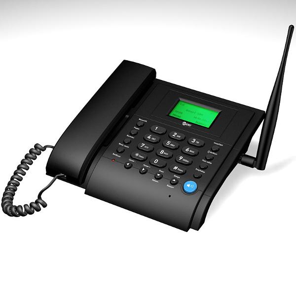 Cтационарный сотовый телефон (черный)