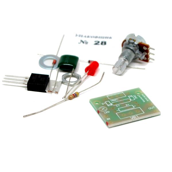 Регулятор мощности 500Вт (2,2А)/ 220В