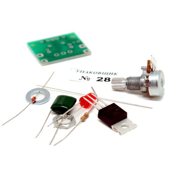 Регулятор мощности 1000Вт (4,5А)/ 220В