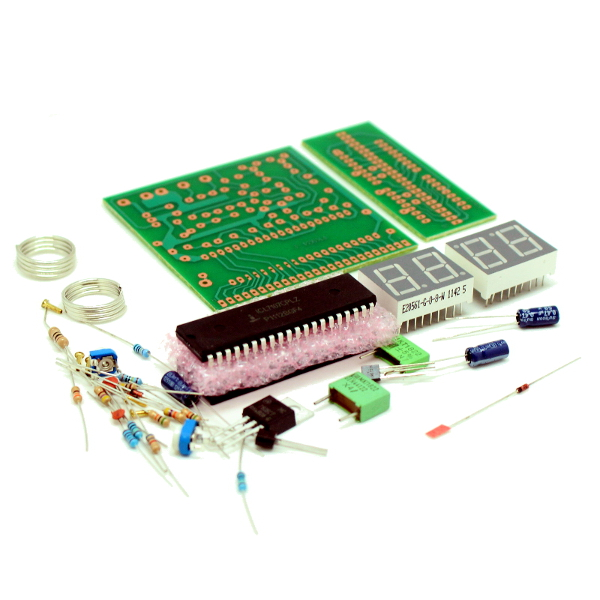 Цифровой вольтметр (до 1000 В)