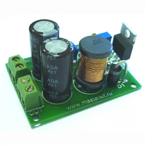 Импульсный регулируемый стабилизатор напряжения 1,2…37В/3,0А