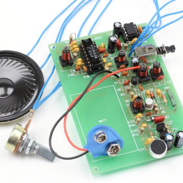 Набор для сборки портативной радиостанции 27МГц  FM