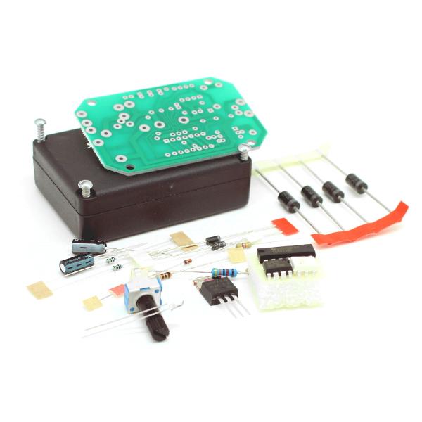 Регулятор мощности для асинхронного двигателя с малым уровнем помех 650Вт / 220 В - набор для пайки
