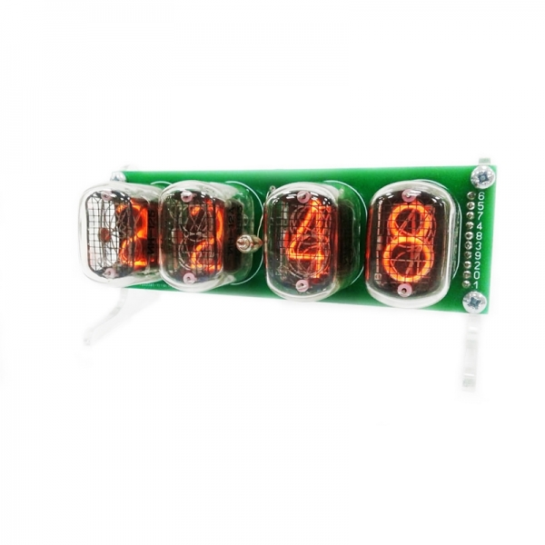 Набор радиолюбителя для сборки ретро часов на лампах ИН-12