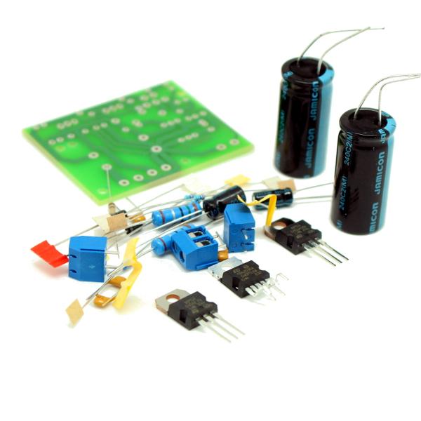Набор для сборки усилителя НЧ 45Вт, моно (TDA2030A+BD907/908)
