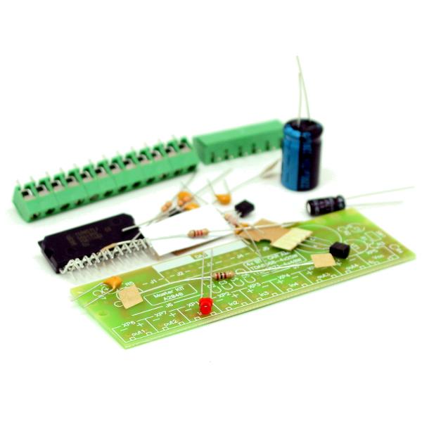 Набор для сборки усилителя НЧ 4х40Вт (TDA8571, авто)