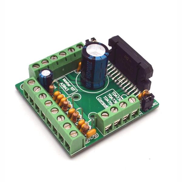 Набор для сборки усилителя НЧ 4 х 77Вт (TDA7560)