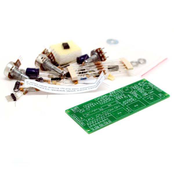 Активный блок обработки сигнала (кроссовер) для сабвуферного канала (LM324, LM358)