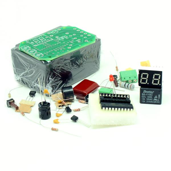 Таймер 1...99 минут на микроконтроллере