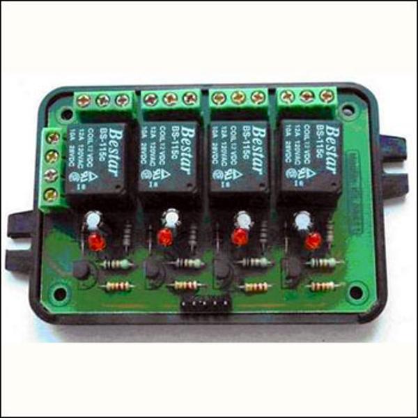 Универсальный блок реле 4-х канальный - исполнительное устройство