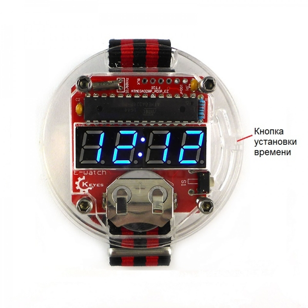 Набор радиолюбителя для сборки наручных DIY часов