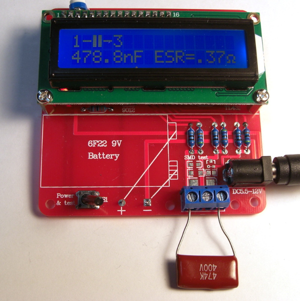DIY-лаборатория: Тестер электронных компонентов, включая ESR конденсаторов