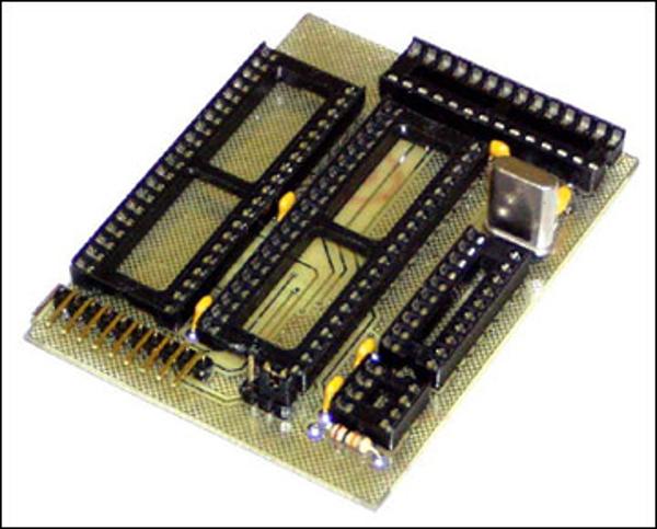 Плата-адаптер для универсального программатора NM9215 (для микроконтроллеров ATMEL)