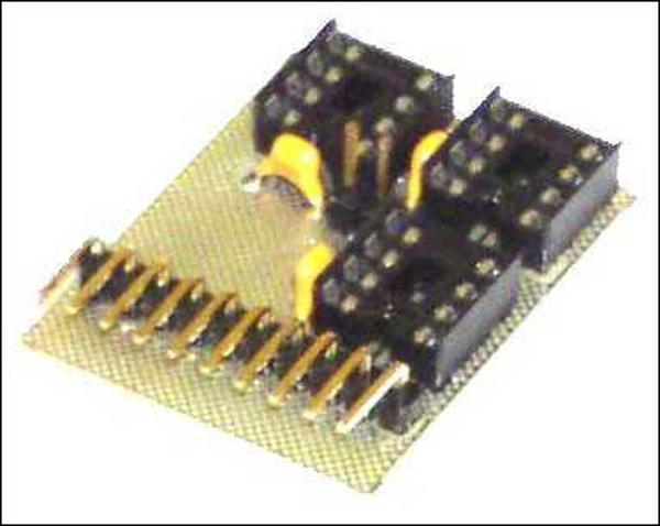 Плата-адаптер для универсального программатора NM9215 (адаптер I2C-Bus EEPROM)