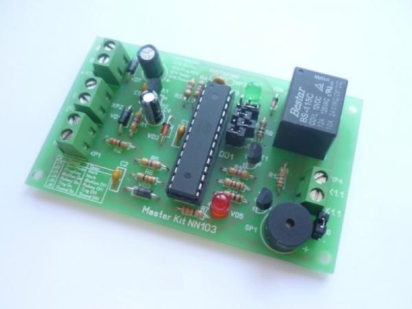 Контроллер доступа iButton (набор для пайки)