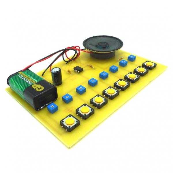 Электронное пианино - набор для самостоятельного изготовления печатной платы и пайки