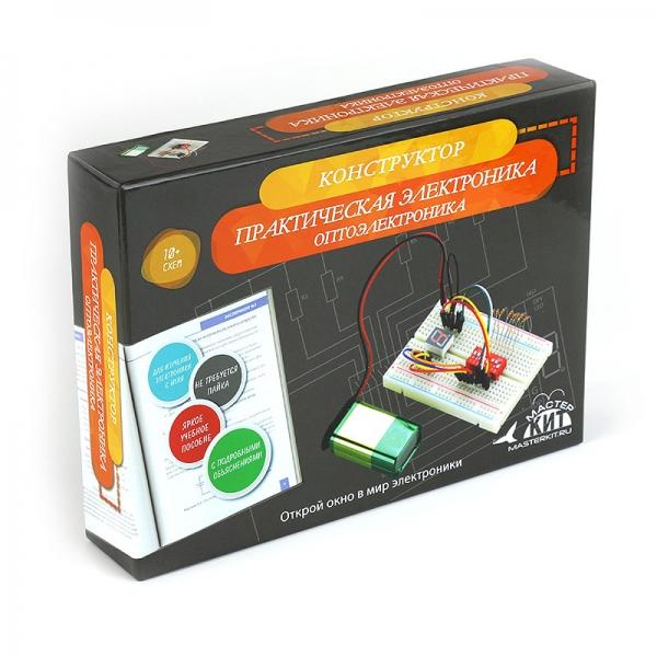 Конструктор Оптоэлектроника  - серия Азбука электронщика (арт. MK04)
