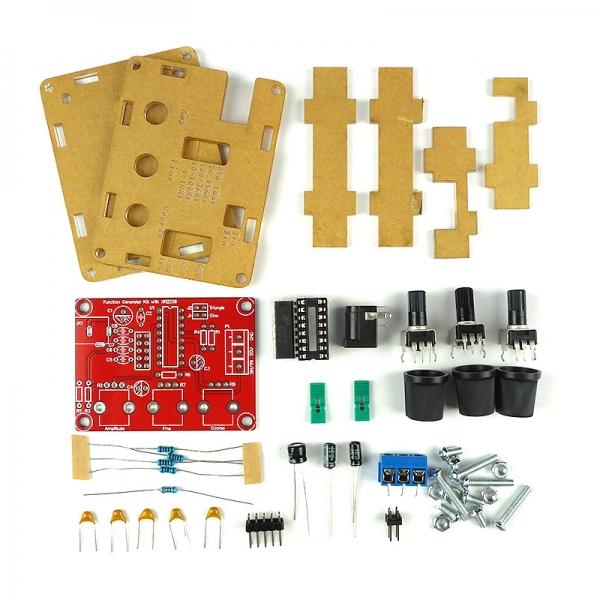 Конструктор радиолюбителя для сборки генератора сигналов до 1 МГц