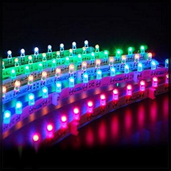 Набор сверхярких светодиодов белого свечения для светодиодного куба 8х8х8