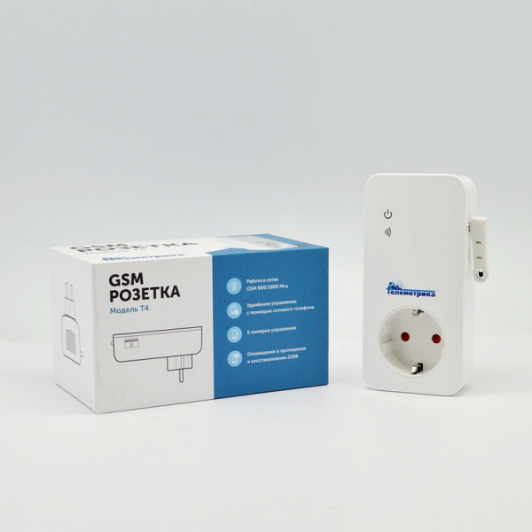 GSM розетка Телеметрика