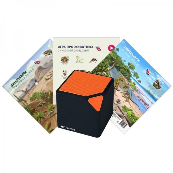 Развивающая игра Coobic игры про динозавров и животных с Николаем Дроздовым