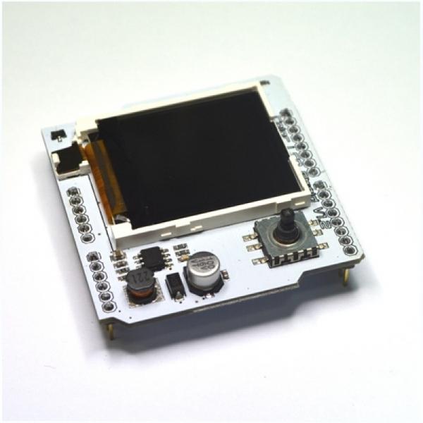 """1, 6"""" Цветной CSTN (132 * 132) дисплей. Расширение для Arduino"""