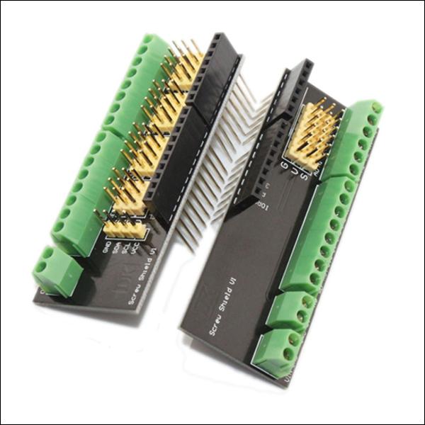 Дополнительные и винтовые разъёмы. Платы-расширения для Arduino.