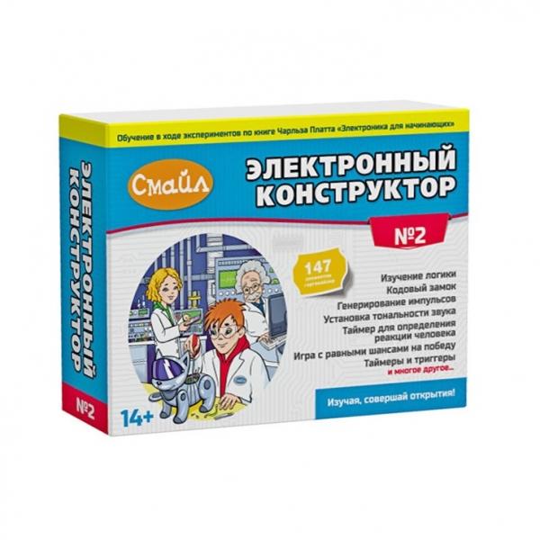 Электронный конструктор СМАЙЛ. Набор №2