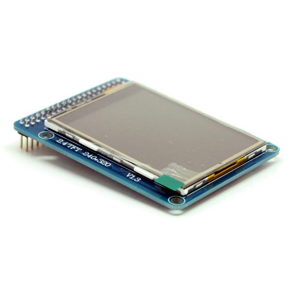 """2.4"""" TFT дисплей (320 * 240) с сенсорной панелью (touch screen) для Arduino"""