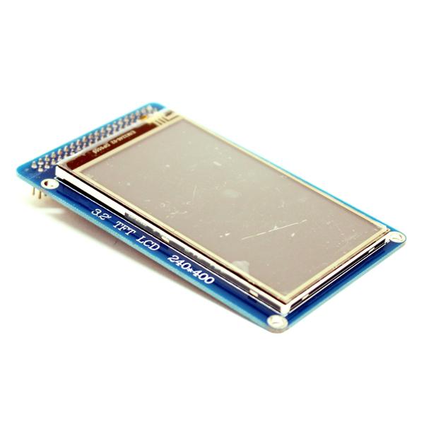 "3.2"" WD TFT дисплей (400 * 240) с сенсорной панелью (touch screen) для Arduino"