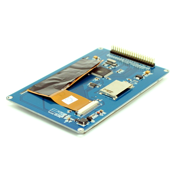 """5"""" TFT дисплей (800 * 480) с сенсорной панелью (touch screen) для Arduino"""