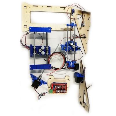 3D MC7 Prime mini M - Модульный 3D принтер-конструктор, 3D START v2.0