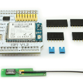 MP614 - WiFi шилд для Ардуино на базе WizFi210