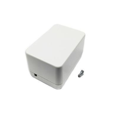 BOX-PM1 - Корпус пластиковый белый 85х58х50 мм