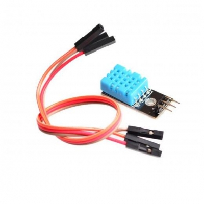 DHT11 Digital temperat and cable - Цифровой датчик температуры и влажности DHT11 с цифровым интерфейсом