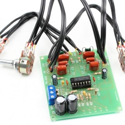 NM0104 - Предварительный усилитель НЧ с регулятором тембра -  набор для пайки