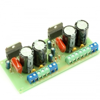 NM0106 - Набор для пайки оконечного усилителя НЧ 70Вт/150Вт (2xTDA7294)