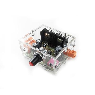 NM2037Sbox - Усилитель НЧ 2.0 в корпусе - набор радиолюбителя для сборки стерео усилителя