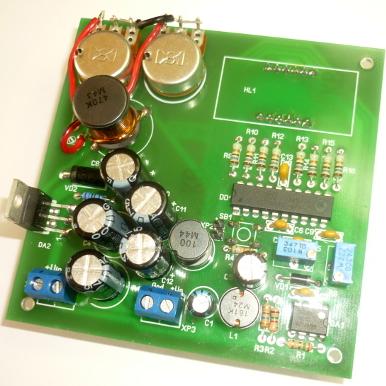 NN105 - Лабораторный блок питания 1,2…37В 0…3А - набор для пайки