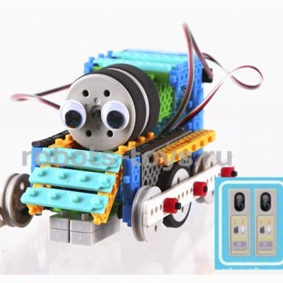 RT0009 - Конструктор роботов MRT sensing, HUNA Fun & Bot 2 (4 робота с сенсорами)