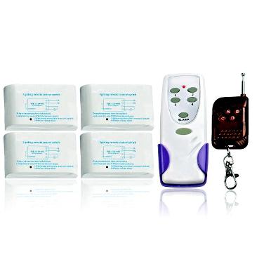 MA8184 - Беспроводной комплект управления освещением 12В/220В диапазона 433 мГц (4 приемника по 1кВт)