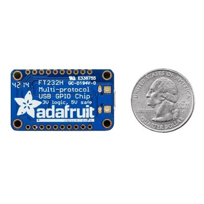 AF0008 - USB Преобразователь (адаптер) с чипом FT232H для связи с интерфейсами GPIO, SPI, I2C