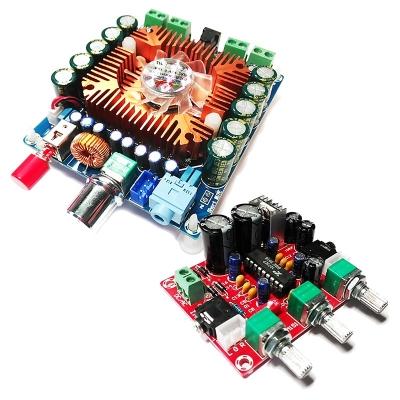 BM2043pro + BM2112 - Усилитель НЧ 4х80 Вт + темброблок