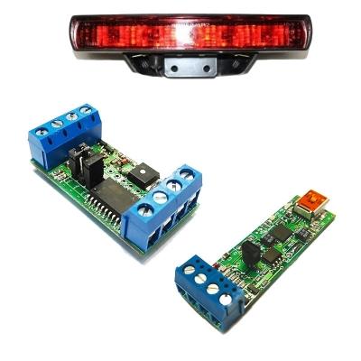 BM9213M + BM5403M - Универсальный адаптер K-L-линии + Устройство управления стоп-сигналами автомобиля