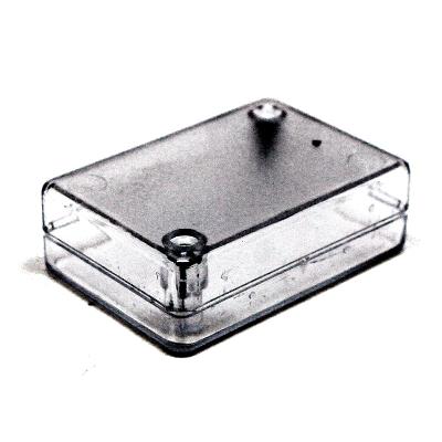 BOX-KA08 прозрачный - Корпус пластиковый прозрачный 65,5х45,5х25 мм